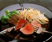 Roastbiff med smørdampede grønnsaker -