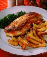 Fylt svineschnitzel -