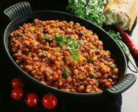 Chili con carne med kikerter -