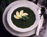 Spinatsuppe -