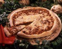 Pizza med grønnsaksfyll -