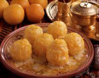 Appelsiner i vaniljelake -
