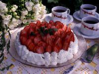 Jordbær à la Romanoff -