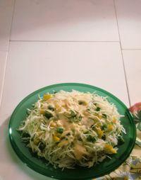 Coleslaw med skarp saus -