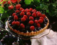 Pai med friske bær -