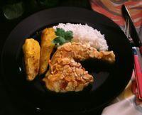 Mandelpanert kylling med pastinakk -