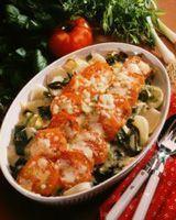 Ostegratinerte grønnsaker -