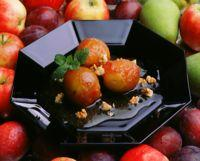 Epler i karamellsaus -