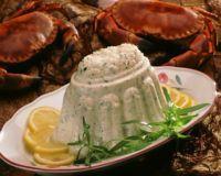 Fisk- og krabbemousse -