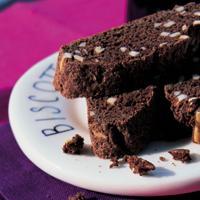 Ingefær- og sjokoladebiscotti -