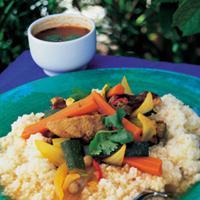 Lam med couscous -