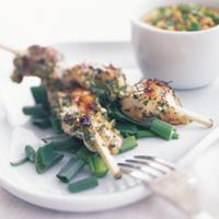 Kylling satay -