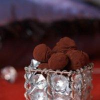 Kakaotrøfler med whisky -