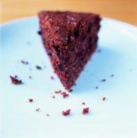 Sjokoladekake med to sorter nøtter -