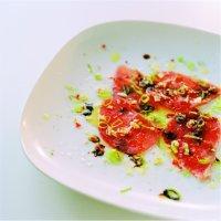 Hvitløk- og ingefærmarinert tunfisk -