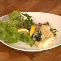 Pannestekt torskefilet med sitronbrunet smør, kapers og persille -