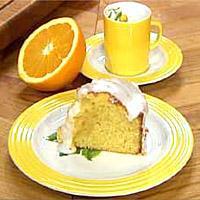 Saftig appelsinkake -