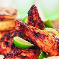 Krydret kylling tandoori -