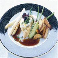 Grillet tunfisk -