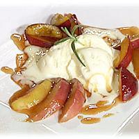 Kryddersyltede plommer, epler og pærer -