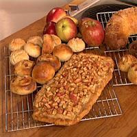 Glutenfri eplefristelse uten egg -