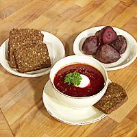 Rødbetsuppe (Bortsj) -