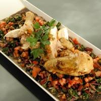 Helstekt kylling -