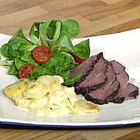 Tjälknøl - En gammel svensk oppskrift på en saftig mør stek. Denne retten trenger 1-2 dager tilberedningstid.