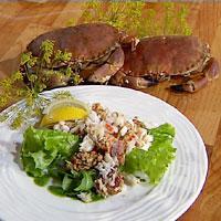 Krabbe naturell -