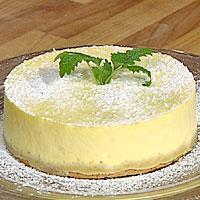 Sitron- og ostekake -