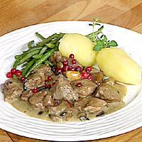 Høstgryte med sopp og brunost -