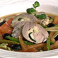 Svinefilet med italiensk smak -