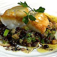 Stekt torsk med bønnesalat og soyasmør -