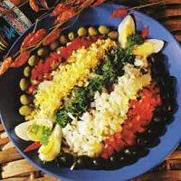 Brasiliansk klippfisksalat -