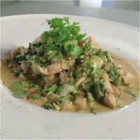 Tom yam thaimat med kylling -