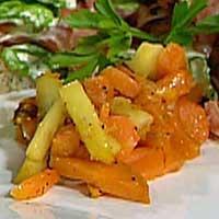 Ovnsbakte grønnsaker -