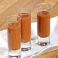 Gazpacho - kald suppe -