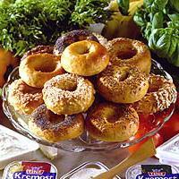 Bagels med frø -
