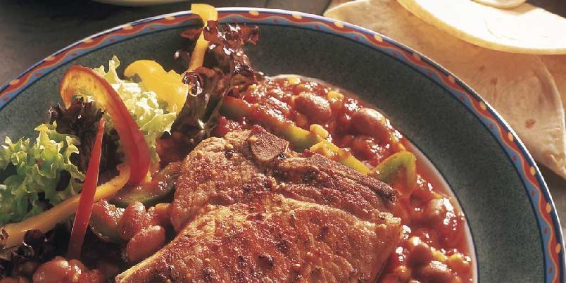 Mexi-koteletter - Hot og godt -
