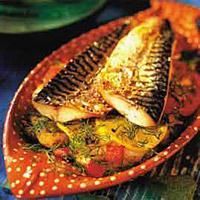 Makrell i form -