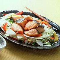 Stekt ørret med sitroneddik -