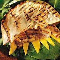 Grillet fisk i pita -
