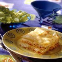 Lasagne med torsk -