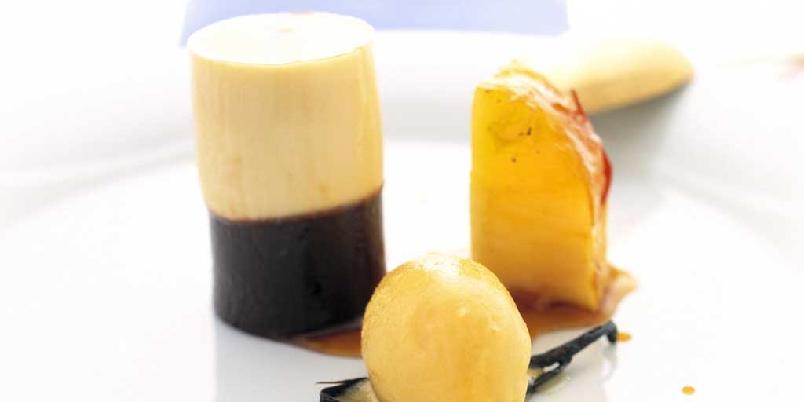 Pasjonsfrukt-og sjokoladeafrodisiakum -