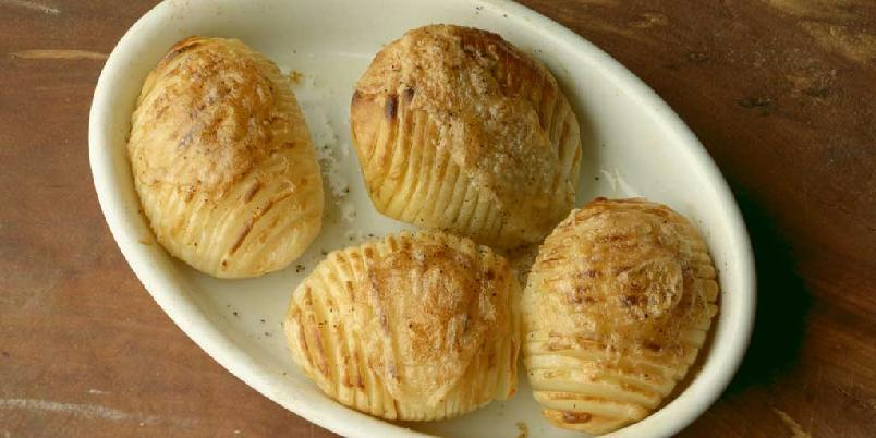 Hasselbackpoteter -