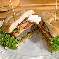 Bent Stiansens hamburgerbrød -