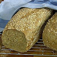 Grovt brød med gulrot -