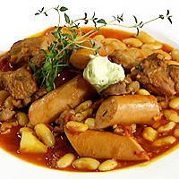 Cassoulet - En klassisk gryterett fra Languedoc med lam og hvite bønner.