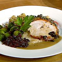 Kalkunbryst til Thanksgiving - med separat stuffing -