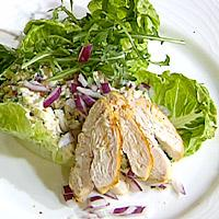 Kremet kyllingsalat -